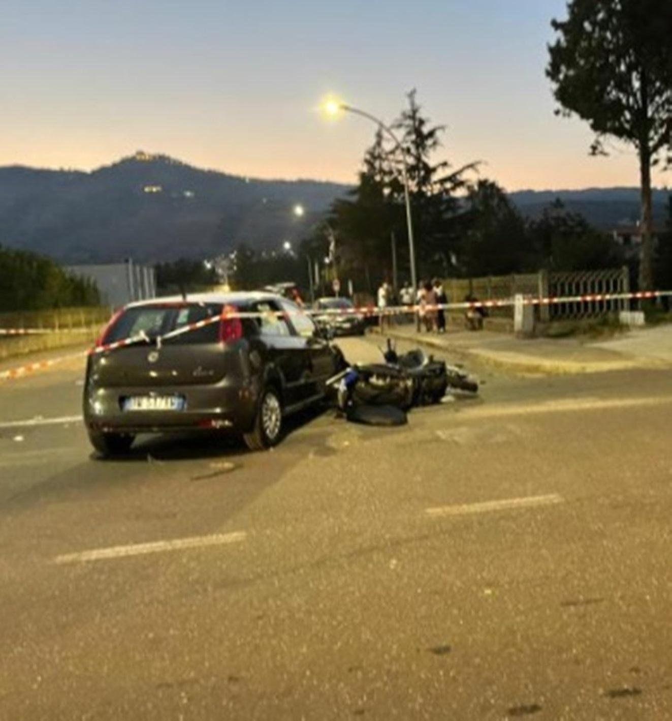 francesco cannistrà 32 anni morto incidente
