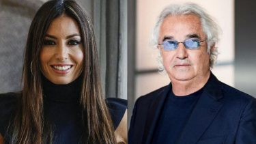 Elisabetta Gregoraci e Flavio Briatore, mano nella mano all'evento Unicef