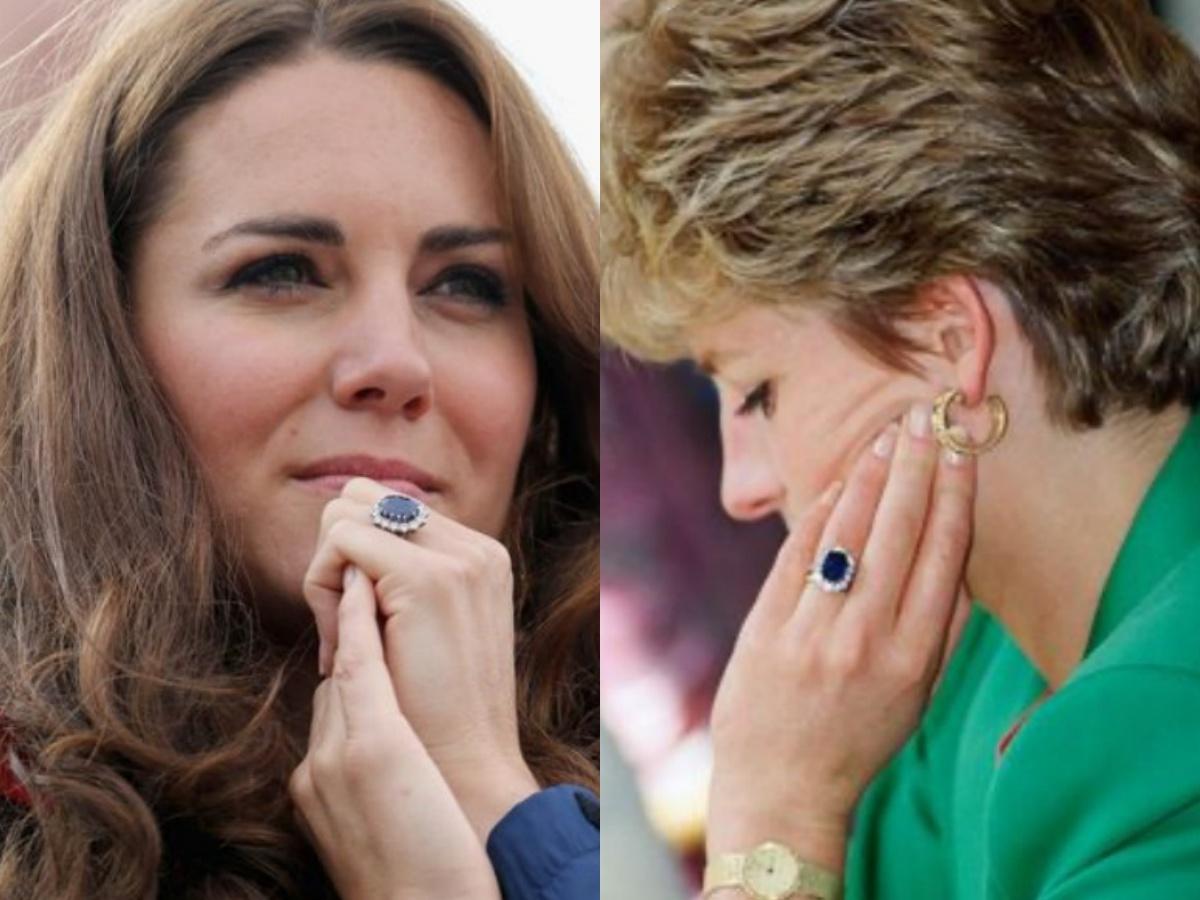 """Kate Middleton, l'anello di Lady Diana: """"Modificato per scongiurare un incubo"""""""