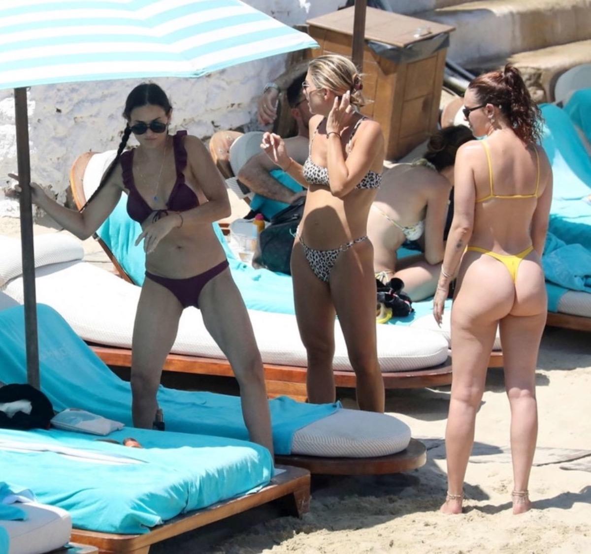 demi Moore bikini 58 anni