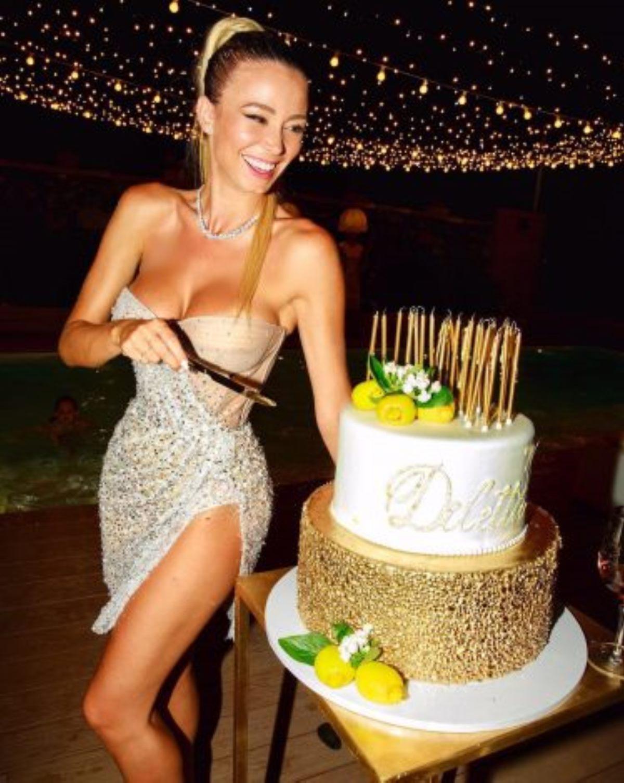 diletta leotta polemiche compleanno