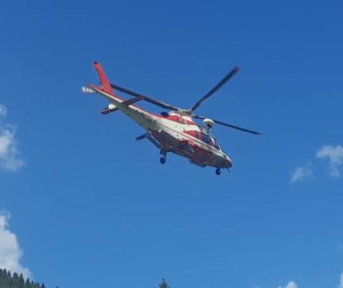 elicottero ricerche