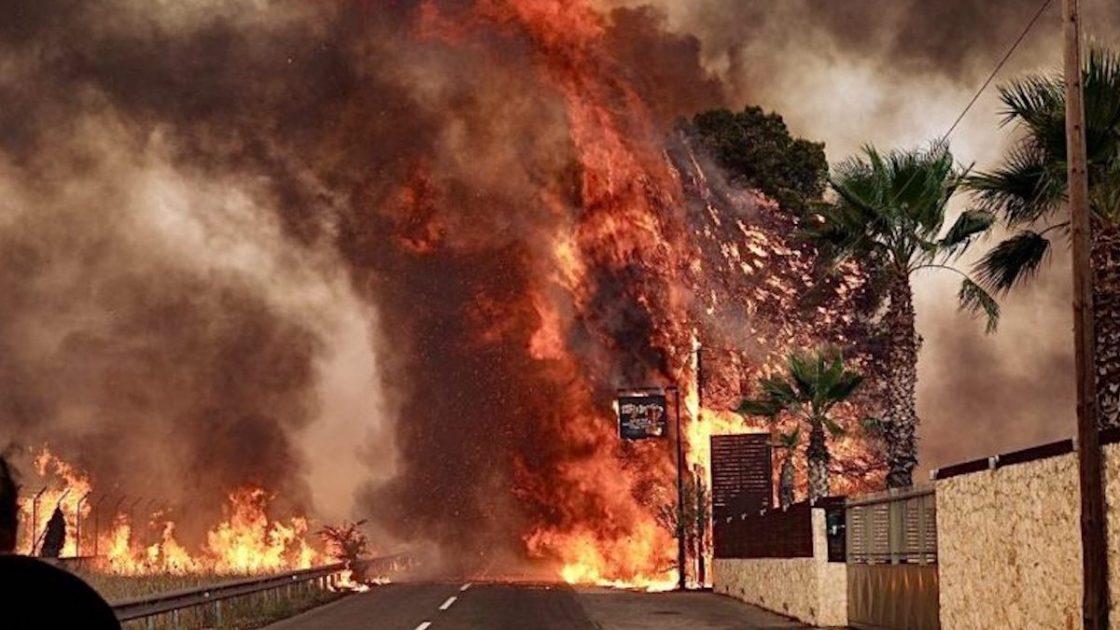 incendi grecia agosto 2021