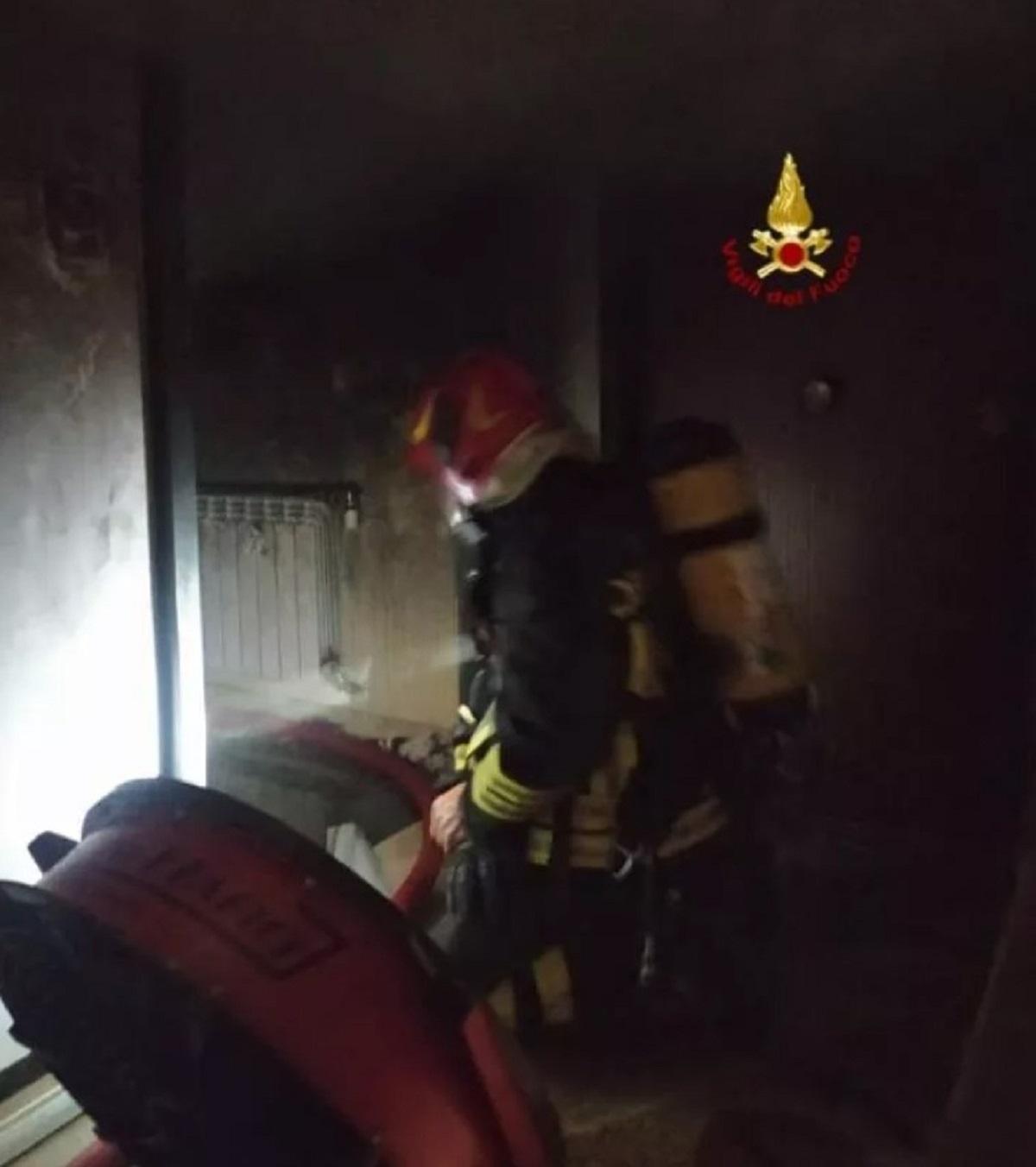 incendio Genova
