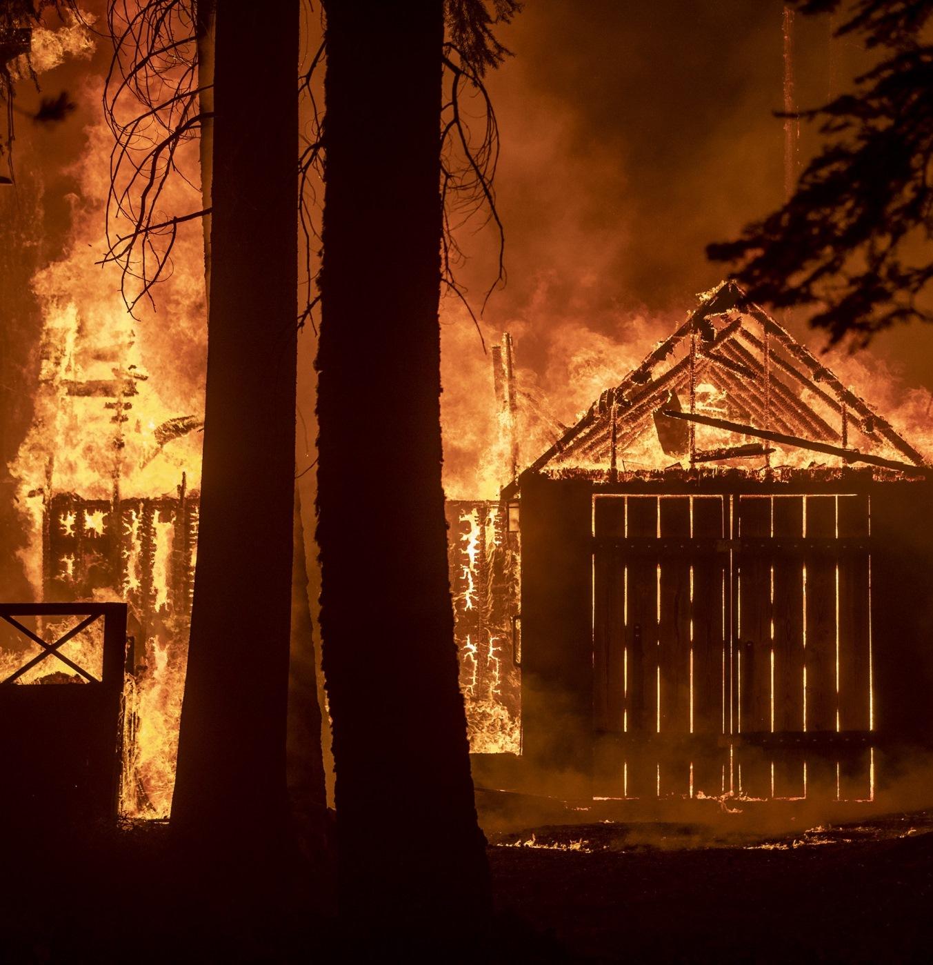 caldor fire incendio california evacuazione