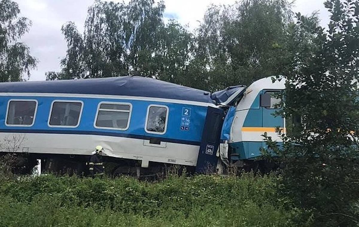 incidente ferroviario repubblica ceca
