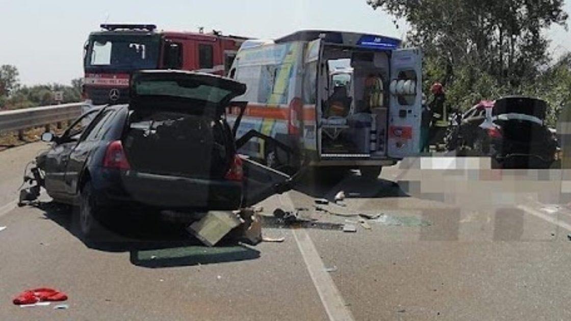 incidente tre morti statale 106