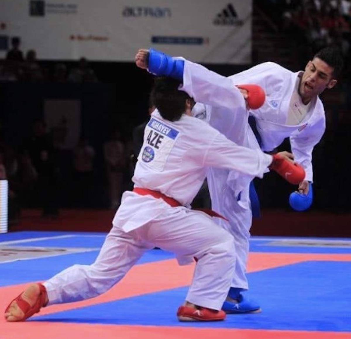 luigi busà karate oro bambino grasso