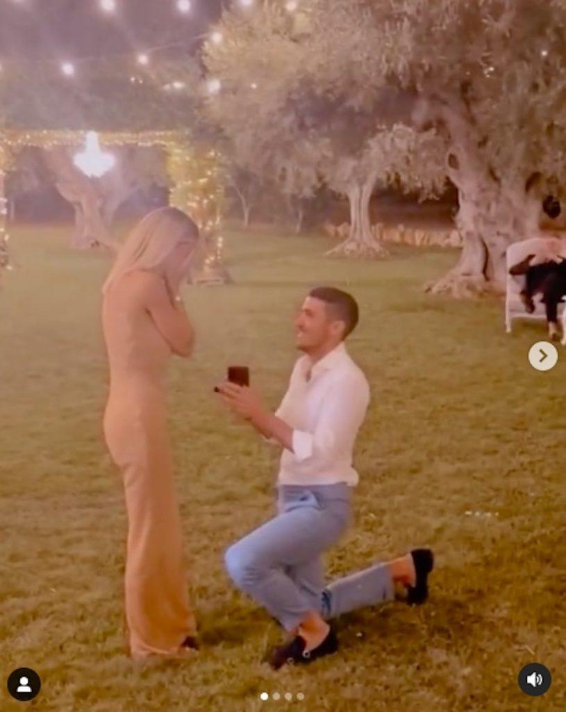 sabrina ghio proposta matrimonio