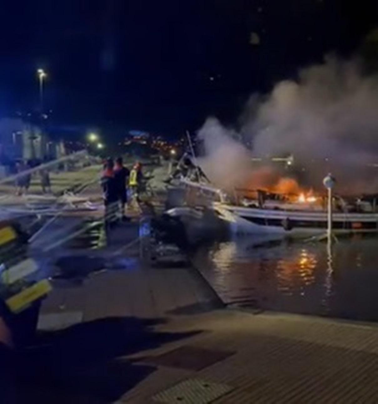 giulia maccaroni morta incendio barca
