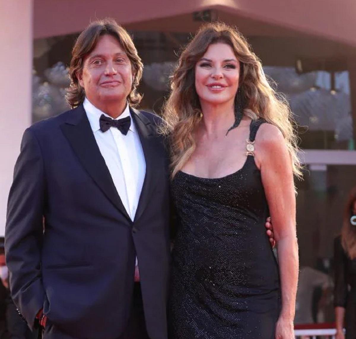 Alba Parietti Festival venezia abito uguale compleanno 60 anni