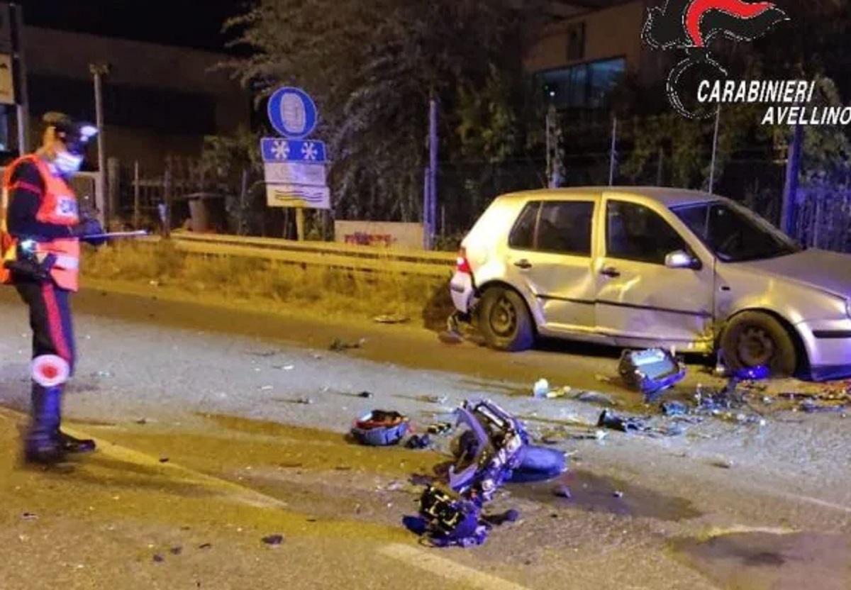 Ariano Irpino Roberto Alborelli morto 25 anni moto