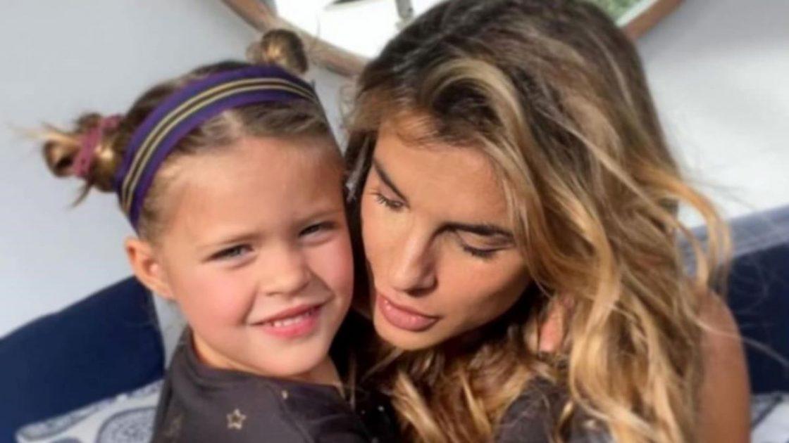 Elisabetta Canalis Regalo Compleanno Figlia Skyler Eva