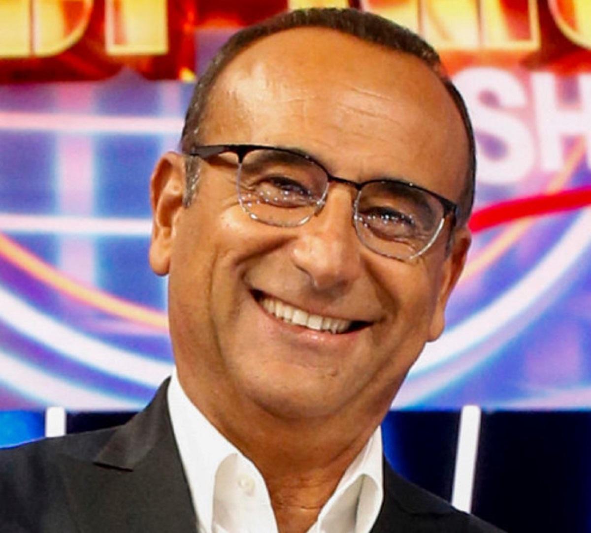 Alfonso Signorini GF Vip 6 ascolti tv sconfitta Carlo Conti