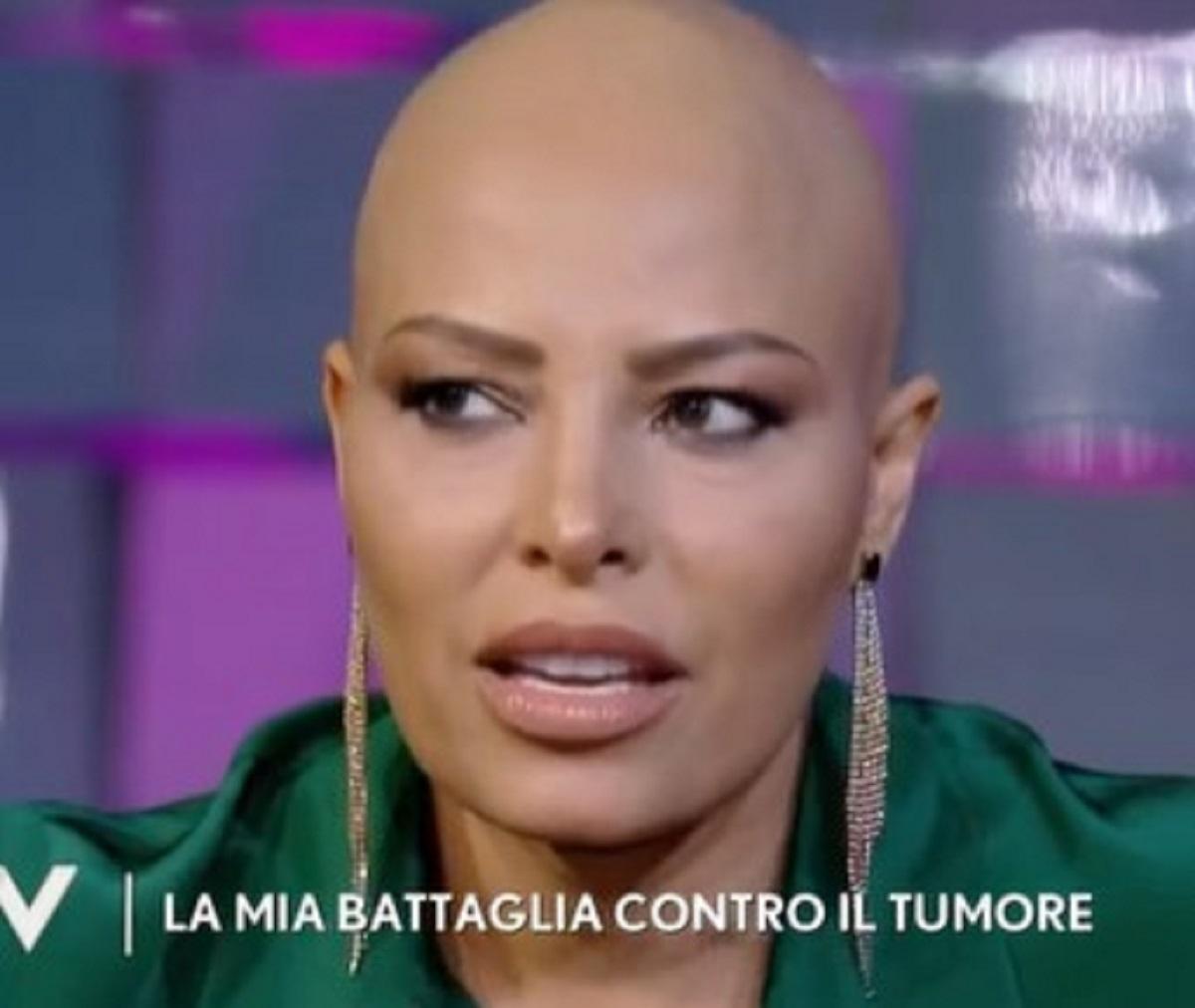 Carolina Marconi Verissimo racconto tumore