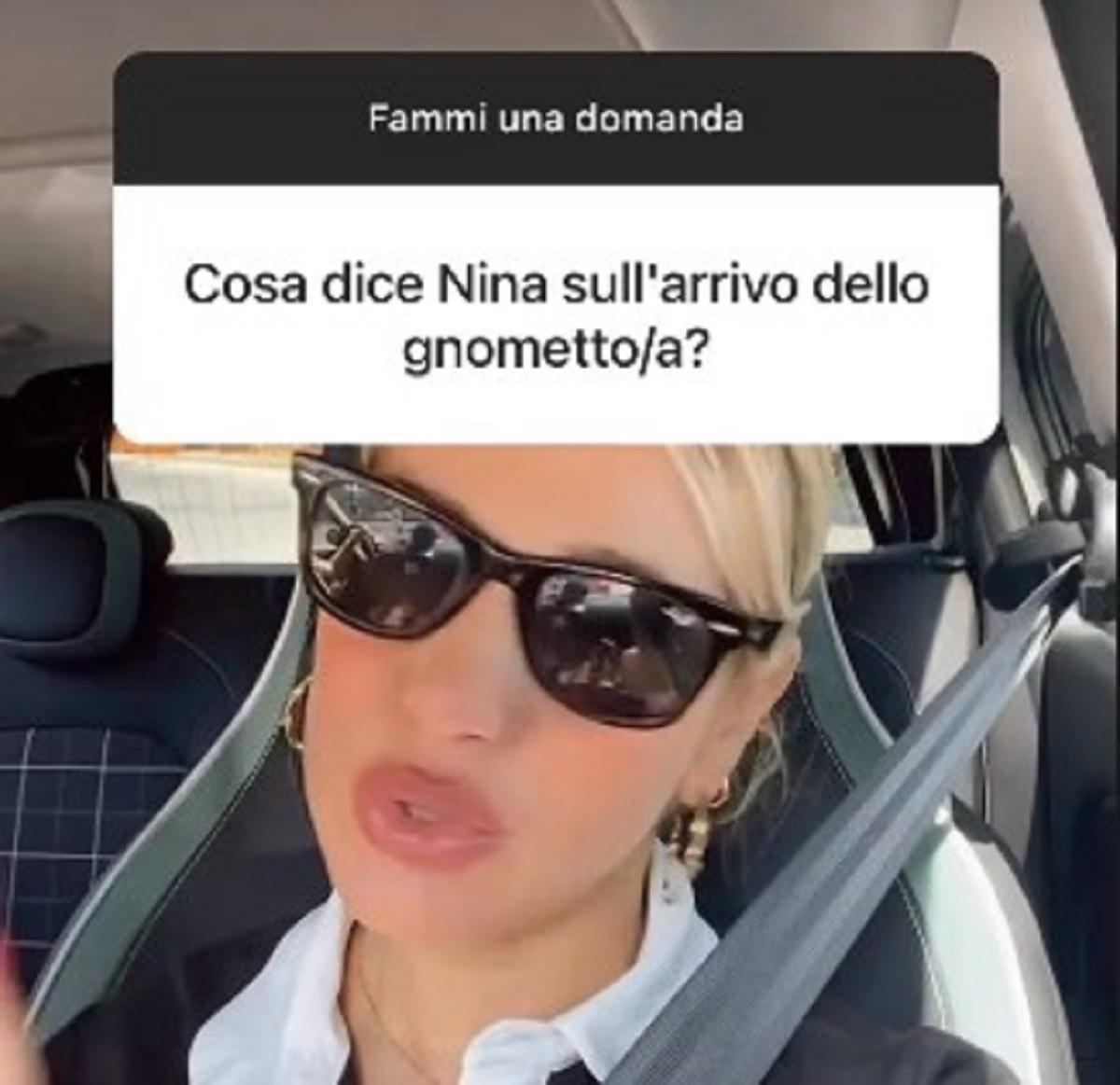 Clizia Incorvaia gravidanza reazione figlia Nina