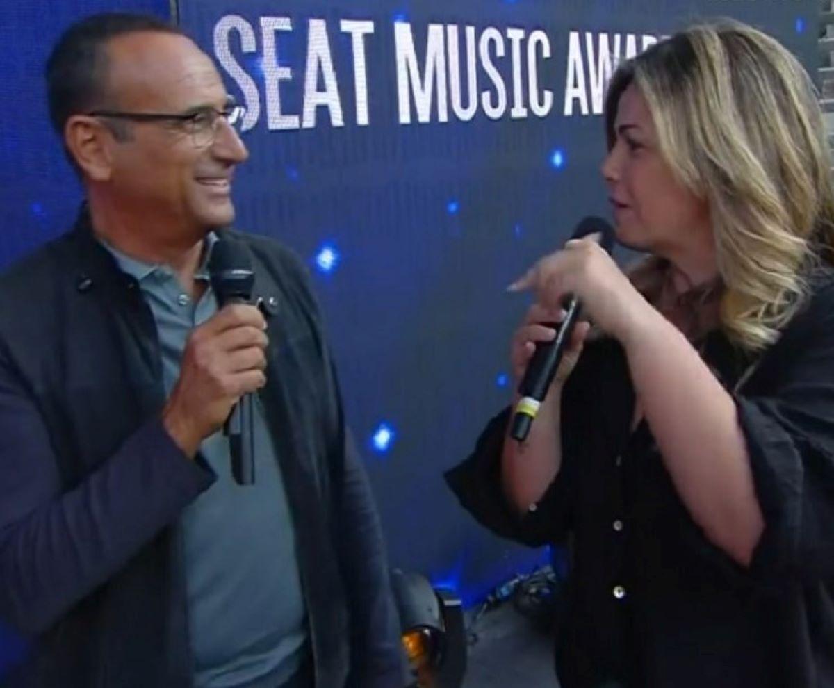 Carlo Conti Seat Music Awards Vittoria Ascolti 10 Settembre 2021