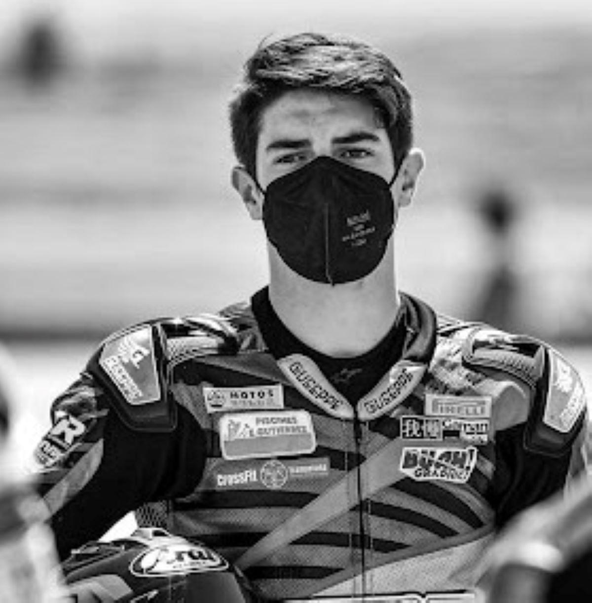 Lutto Motociclismo Morto Dean Berta Vinales Incidente Jerez