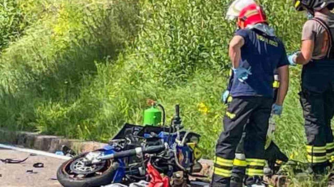 Franz Deola morto 44 anni moto