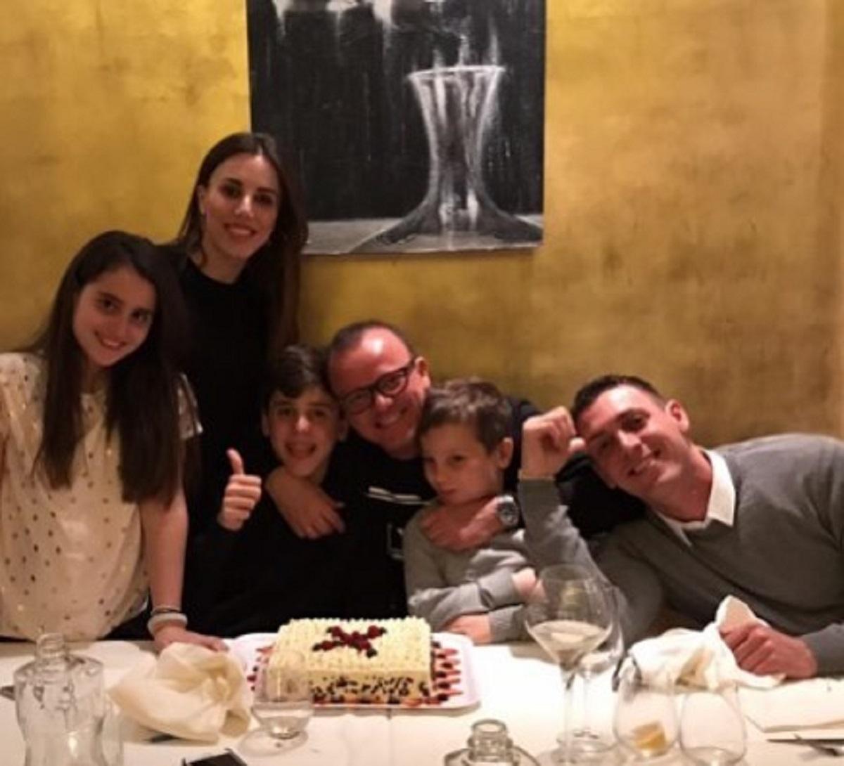 Gigi D'Alessio nonno figlio Claudio Giusy Lo Conte