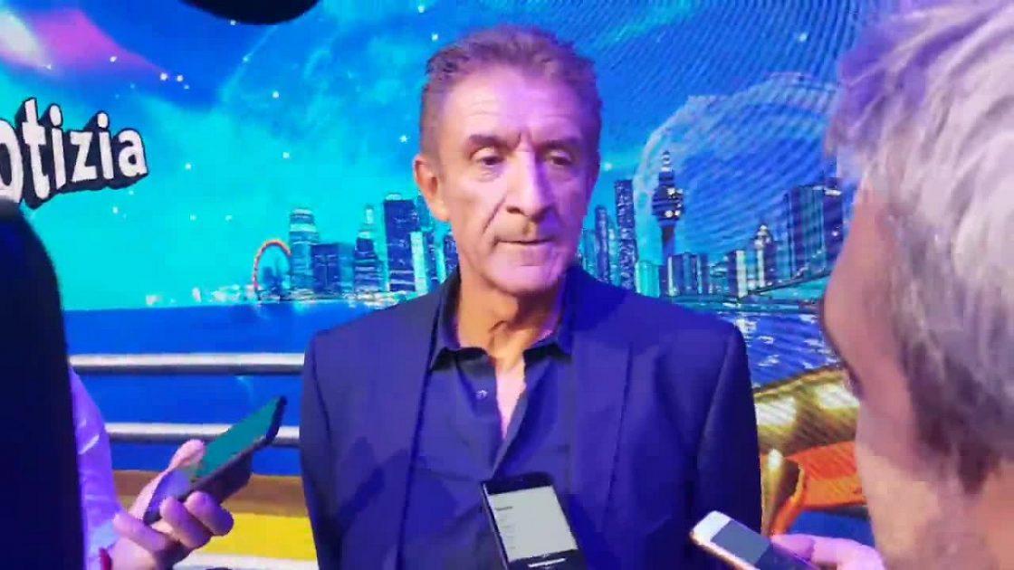 Ezio Greggio Pianto Gianfranco D'Angelo