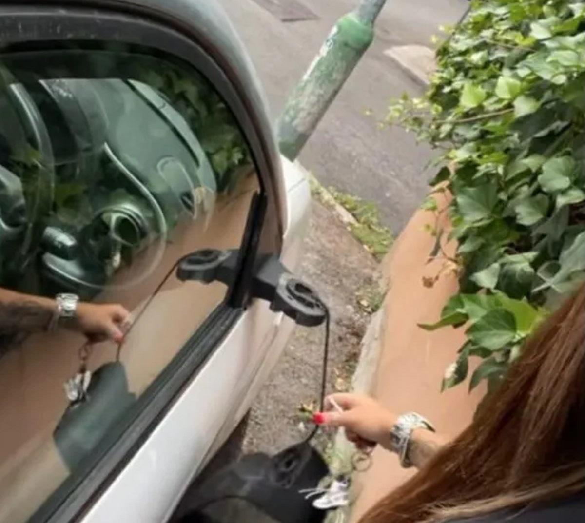 Guendalina Tavassi auto vandalizzata foto sfogo