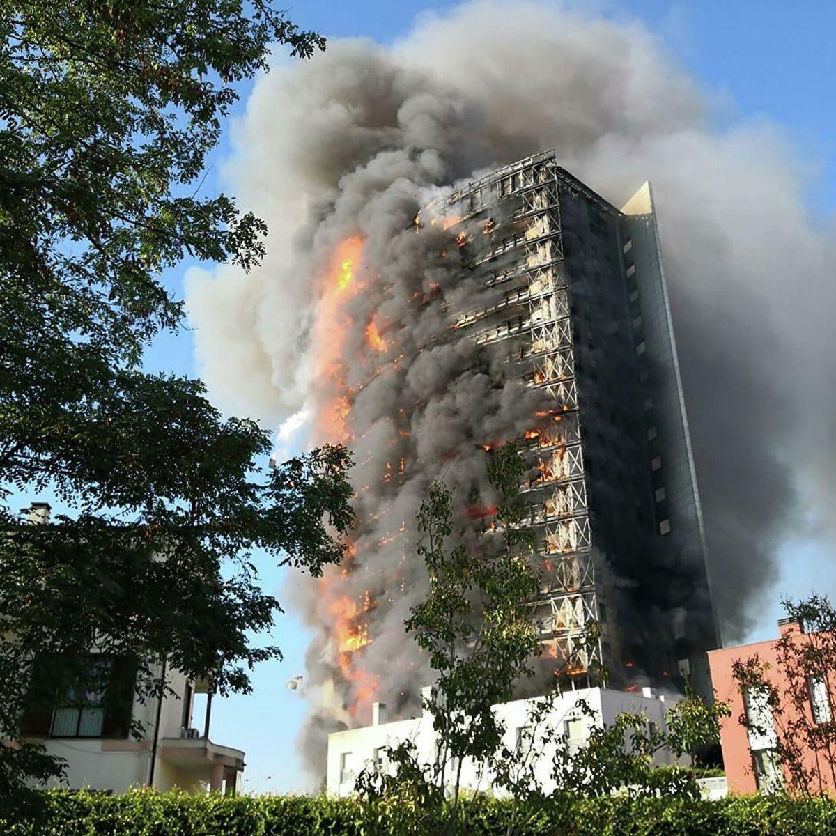 Morgan Gesto Inquilini Incendio Grattacielo Milano