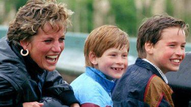 Lady Diana Trasferimento Malibu Harry William