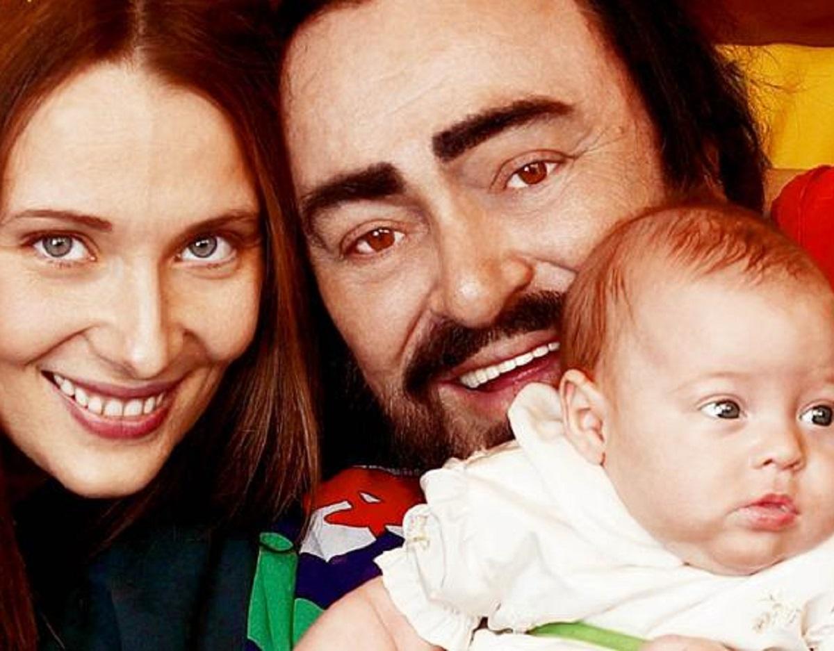 Luciano Pavarotti Alice figlia 18 anni foto