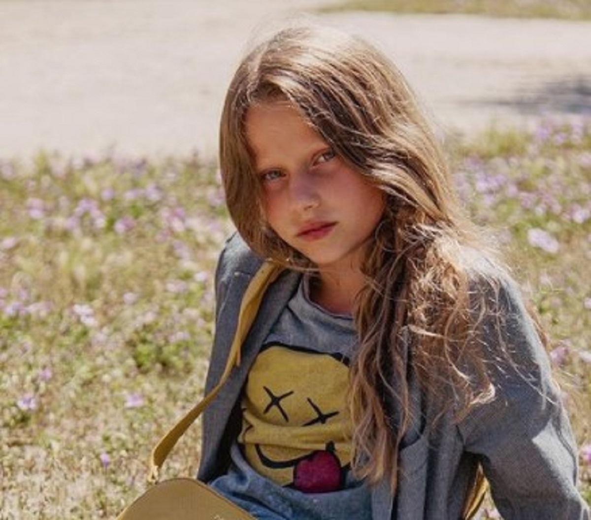 Alessia Marcuzzi compleanno figlia Mia foto famiglia allargata