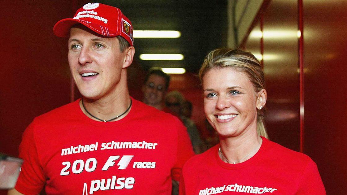 Michael Schumacher moglie corinna
