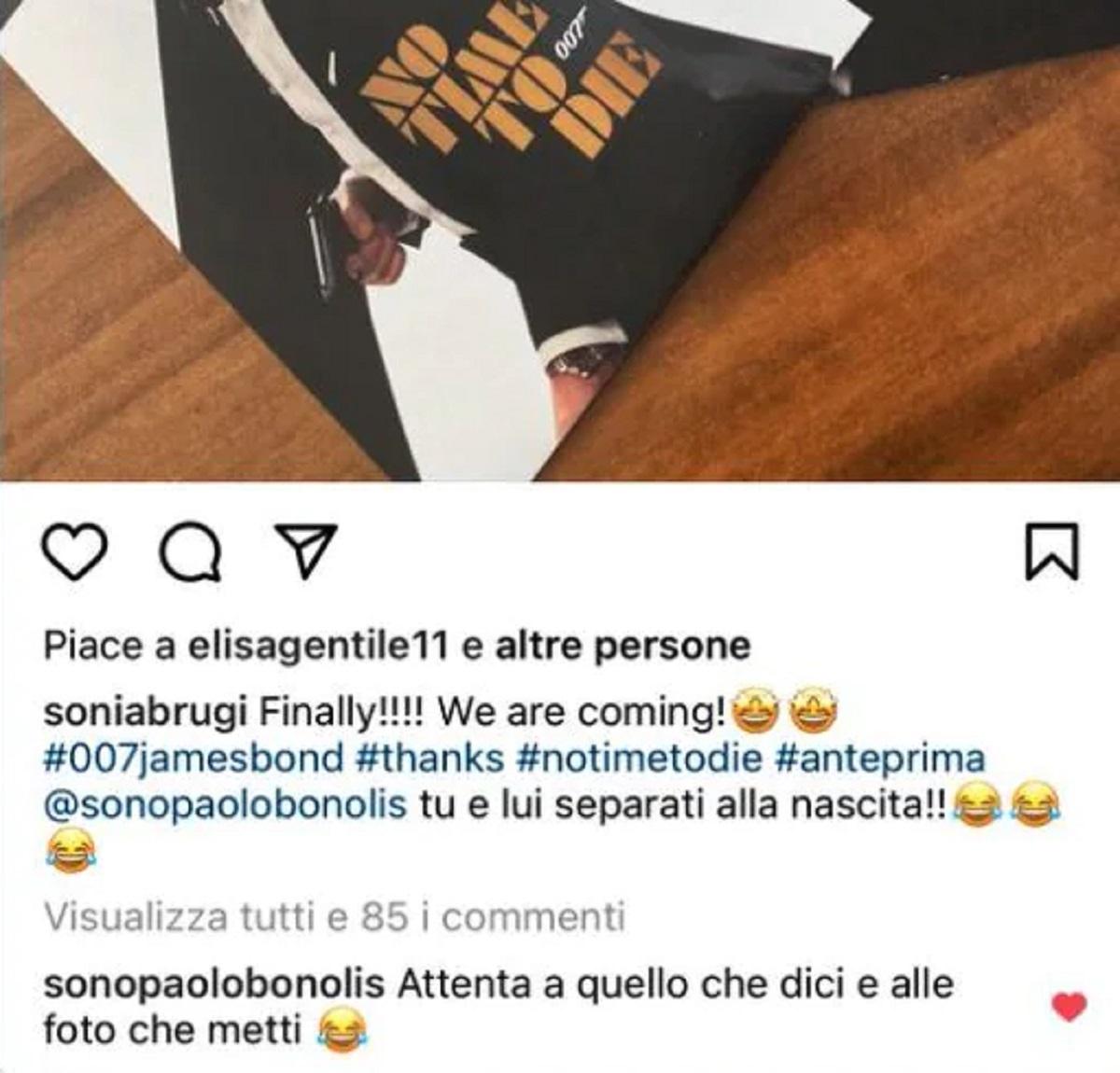 Sonia Bruganelli GF Vip 6 Adriana Volpe scontro reazione Paolo Bonolis