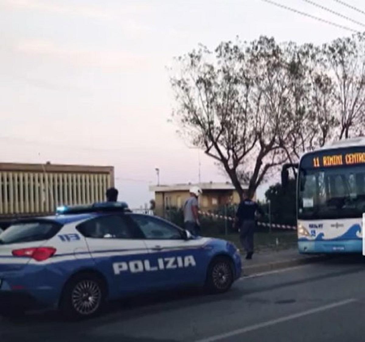 Rimini aggressore somalo biglietto coltello 5 feriti