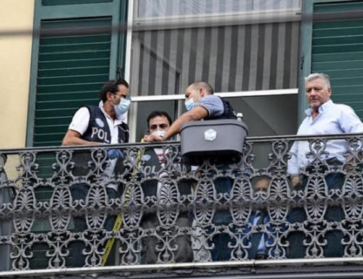 Napoli tragedia Samuele morto 4 anni balcone funerali
