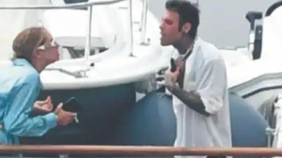 Chiara Ferragni e Fedez, lite sullo yacht: insulti, facce tese e urla