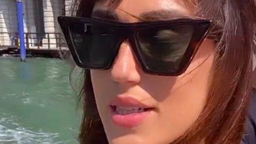 """Venezia 78, Cecilia Rodriguez senza Ignazio Moser: """"Ma lui dov'è finito?"""""""