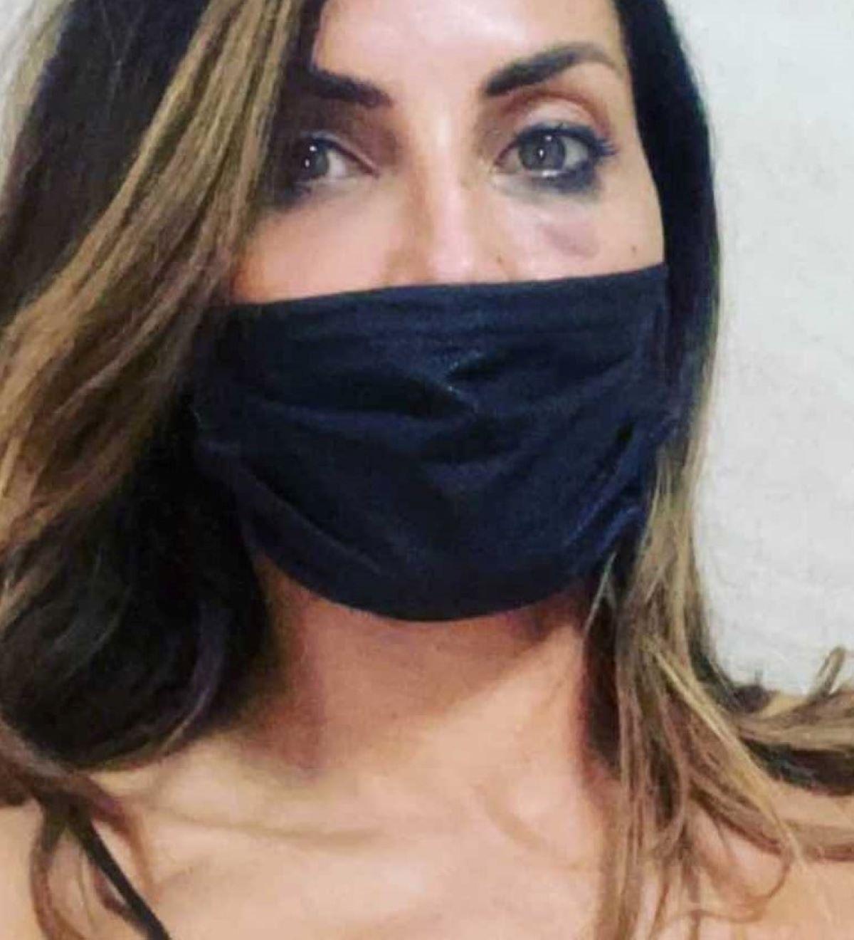 Guendalina Tavassi Aggressione Occhio Tumefatto Denuncia Polizia