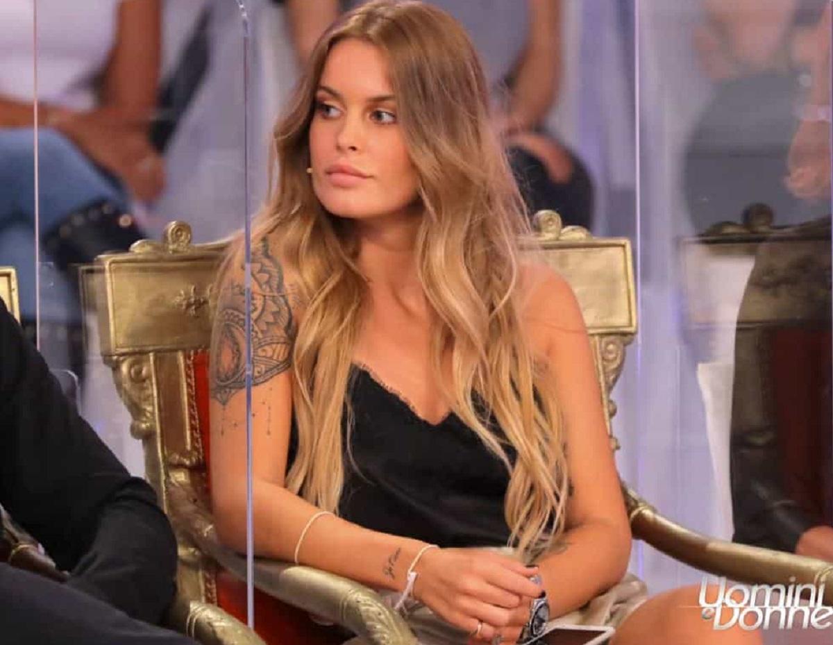 Sophie Codegoni Uomini e Donne Matteo Ranieri frecciatina