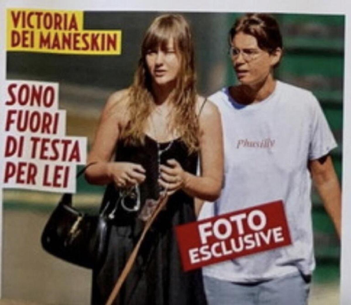 Victoria De Angelis Maneskin foto fidanzata