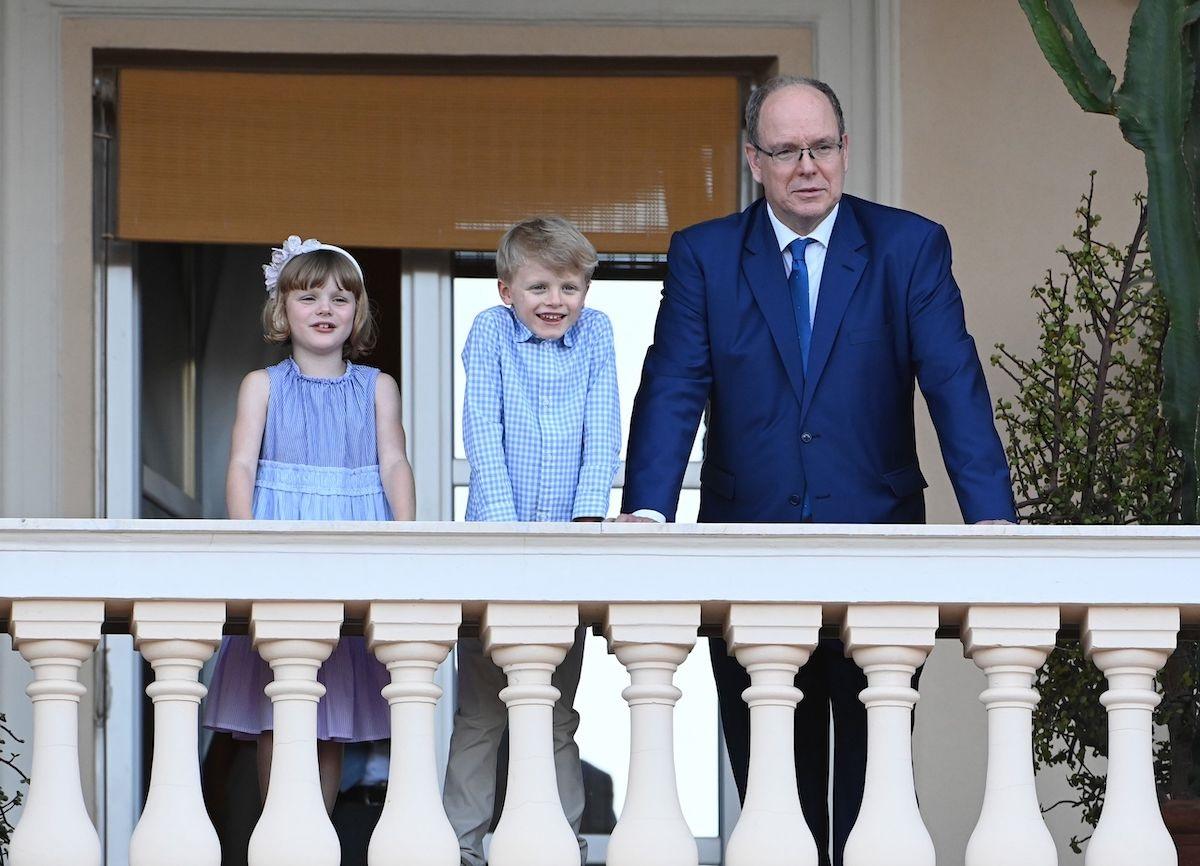 Alberto di Monaco e figli