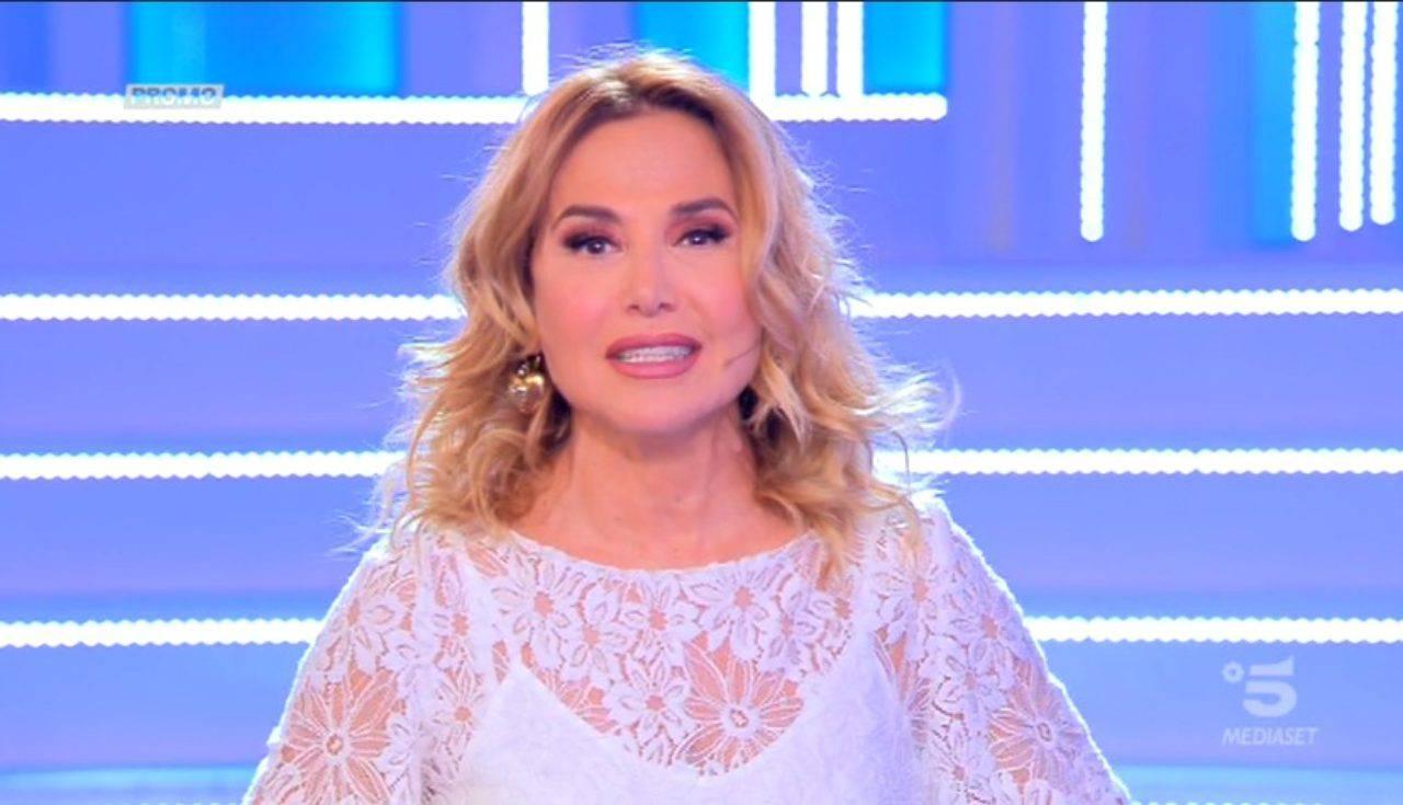 Barbara D'Urso Silvia Toffanin messaggio verissimo
