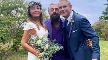 Camila Raznovich matrimonio Normandia