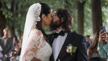 Catherine poulain matrimonio Filippo Graziani