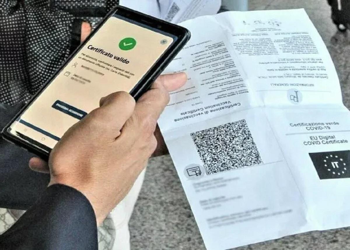 Green pass certificazione valida non vaccinati modalità condizioni