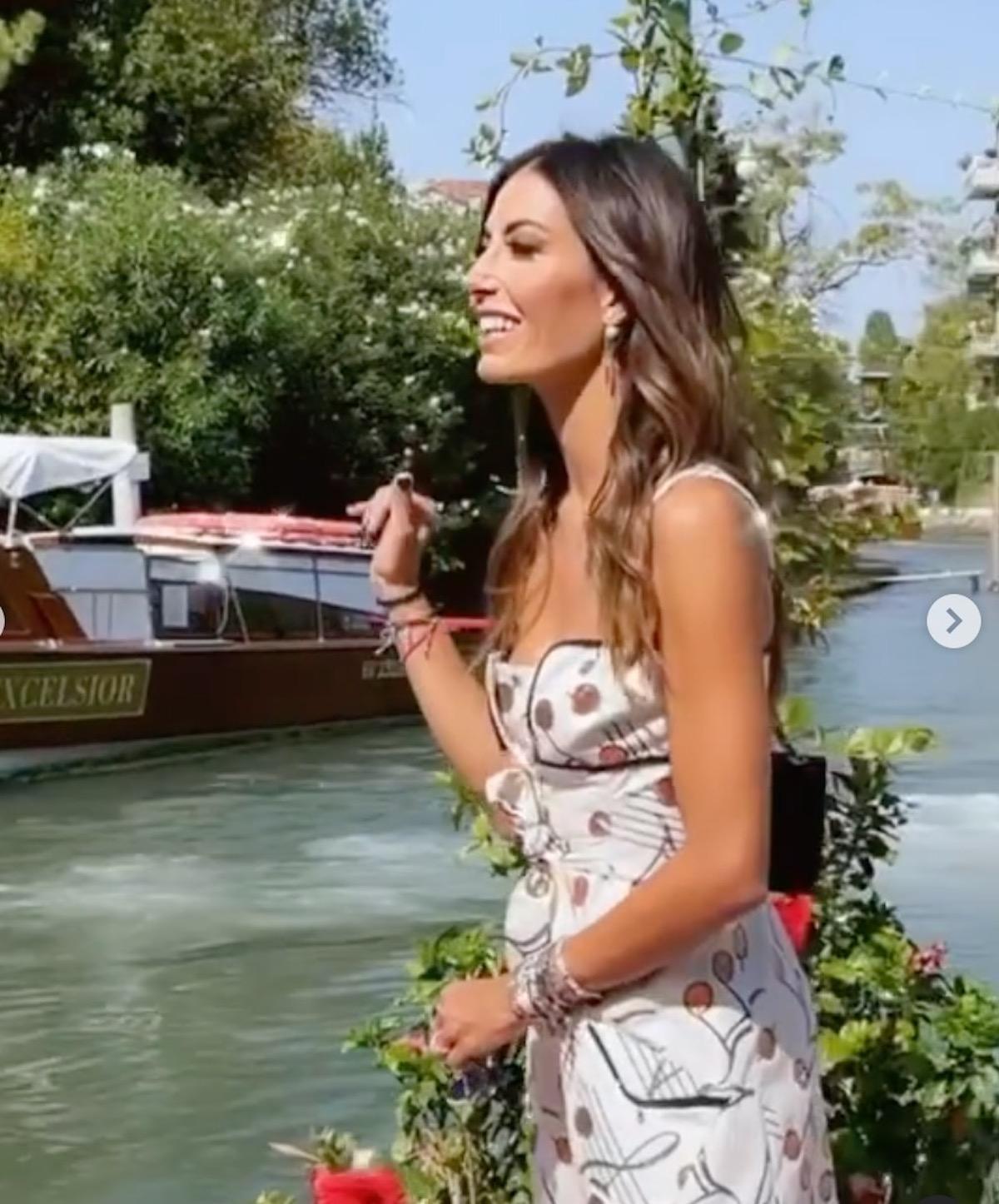 Elisabetta Gregoraci look Venezia 78