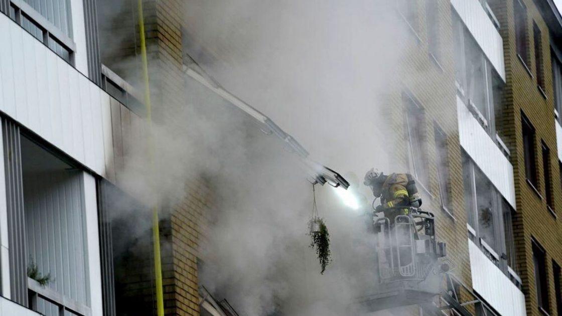 esplosione palazzo svezia