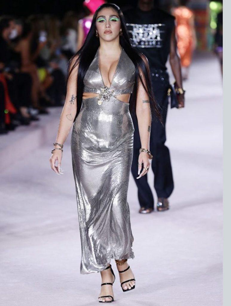fashion week milano lourdes maria ciccone