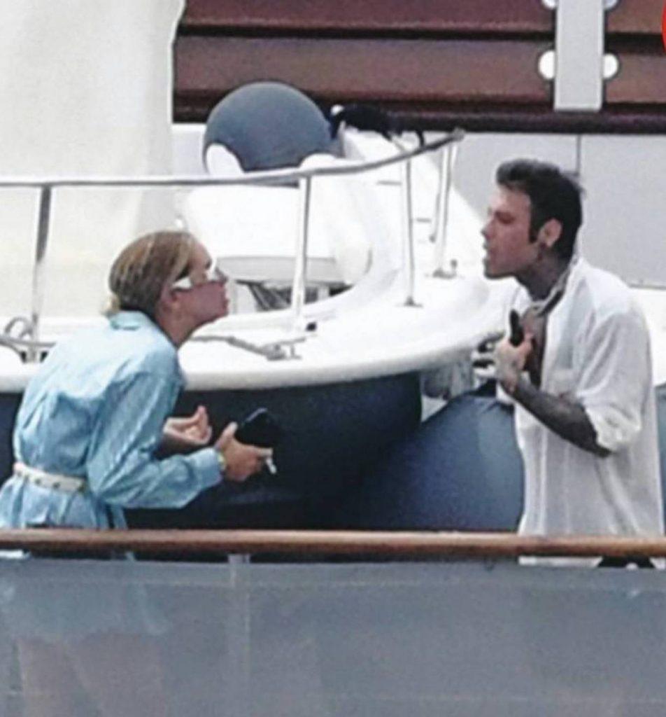 fedez chiara ferragni perché litigato sullo yacht