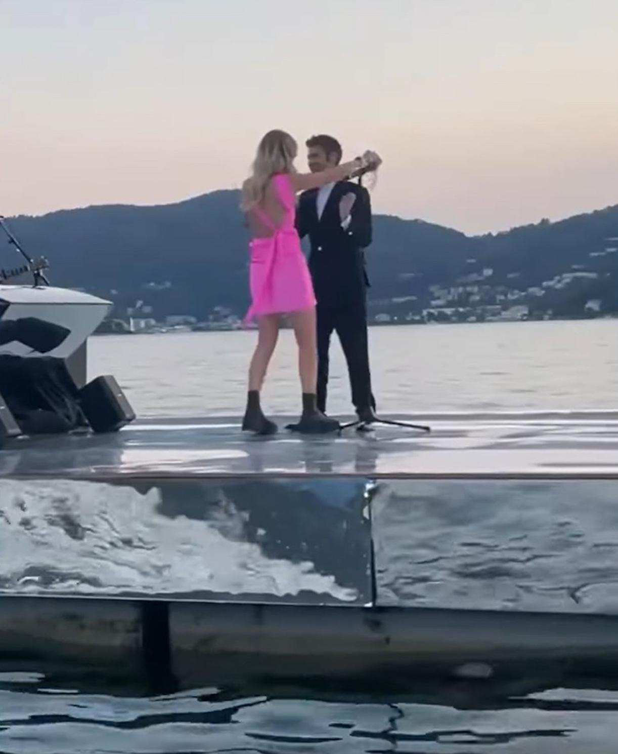 Chiara Ferragni anniversario fedez canzone