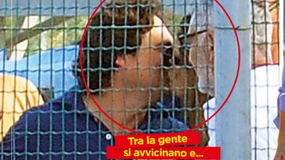 Elisa Isoardi bacio alessandro di paolo